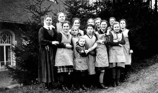 27.11.1940 Mädchengruppe