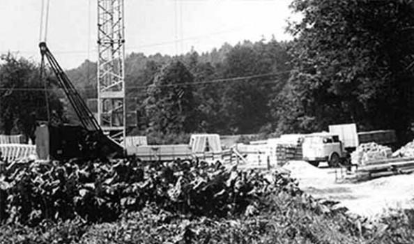 Blick auf die Baustelle Bodelschwinghhaus
