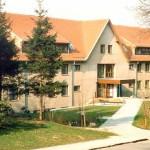Ein Blick auf das fertiggestellte Wiesenhaus