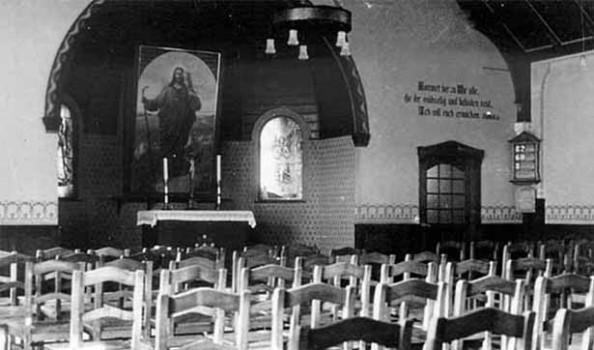leerer Kirchsaal