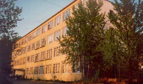 Blick auf das Bodelschwinghhaus, ein vierstöckiges Gebäude